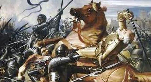 historia Pytanie-Ciekawostka: Ostatnią bitwą jakiej wojny była bitwa pod Castillon?