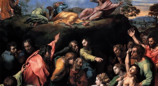 """Kultura Pytanie-Ciekawostka: Ostatnim dziełem jakiego artysty był obraz """"Przemienienie Pańskie"""", obecnie wiszący w Watykanie?"""