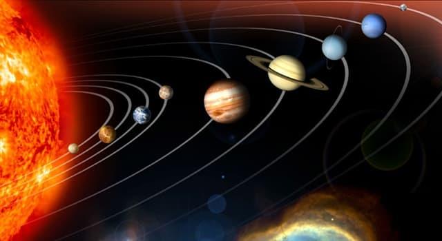 natura Pytanie-Ciekawostka: Powierzchnia której planety jest pokryta pyłem tlenku żelaza?
