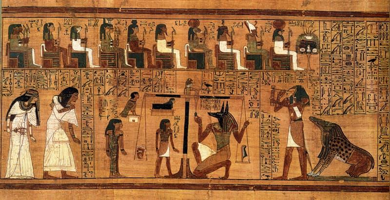 Cultura Pregunta Trivia: ¿Qué pruebas deben superar las almas de los difuntos frente al tribunal de Osiris?