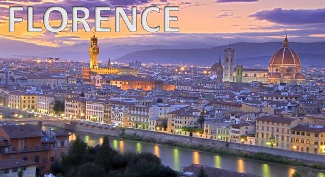 Geografia Pytanie-Ciekawostka: Stolicą jakiego regionu we Włoszech jest Florencja?