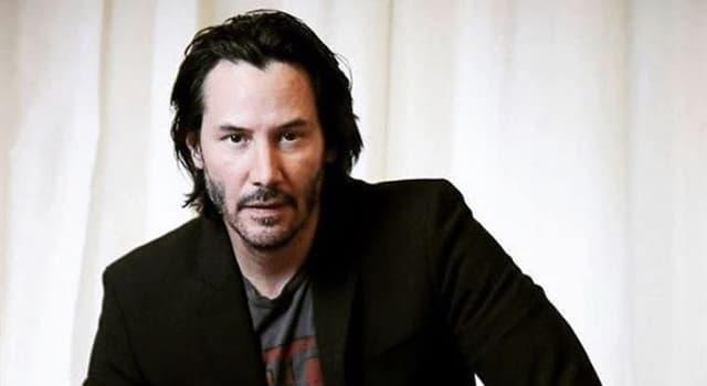 społeczeństwo Pytanie-Ciekawostka: W jakim kraju urodził się Keanu Reeves?