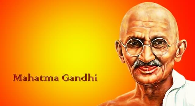 historia Pytanie-Ciekawostka: W którym mieście w 1948 roku został zastrzelony Mahatma Gandhi?