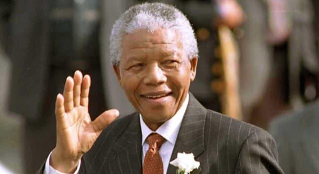 historia Pytanie-Ciekawostka: W którym roku Nelson Mandela wyszedł z więzienia?