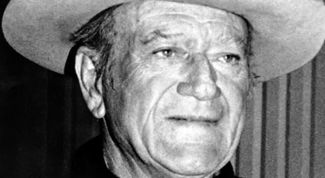 Film & Fernsehen Wissensfrage: Welcher bekannte US-amerikanische Schauspieler wurde unter dem Namen Marion Robert Morrison geboren?