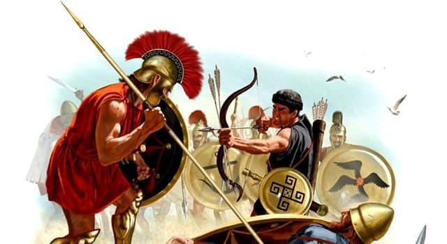 """Geschichte Wissensfrage: Welcher Grieche schrieb """"Der Peloponnesische Krieg""""?"""