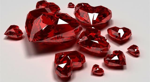 Wissenschaft Wissensfrage: Welches chemische Element gibt dem Rubin die rote Farbe?