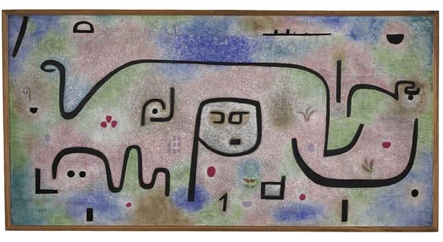 Kultur Wissensfrage: Wer hat dieses Gemälde gemalt?