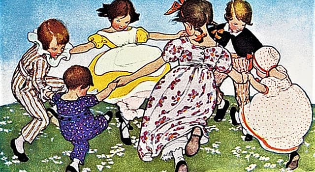 Culture Trivia Question: What does the nursery rhyme 'Ring - Around - the - Rosie' actually refer to?