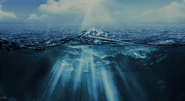 Geography Trivia Question: What is a mid-ocean ridge?