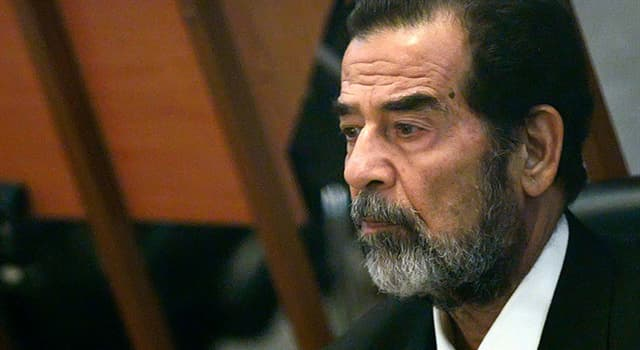 Culture Trivia Question: What is the name of the romantic novel written by Saddam Hussein?