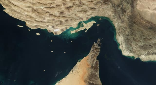 Geography Trivia Question: What is this strait called?