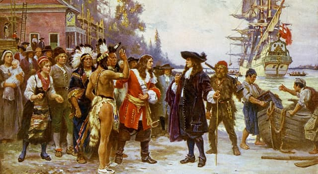 History Trivia Question: What was first permanent English settlement founded in America in 1607?