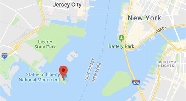 History Trivia Question: What was Liberty Island's name when the Statue of Liberty was originally erected?