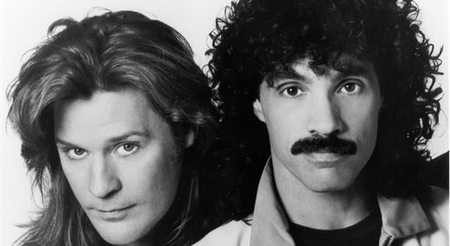 Culture Trivia Question: What was the American pop rock duo Hall & Oates first US number one hit?