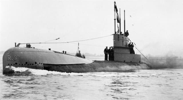History Trivia Question: What was the name of the world's first submersible vessel used in combat?