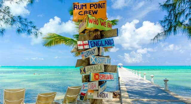 Geography Trivia Question: Where are the Cayman Islands located?
