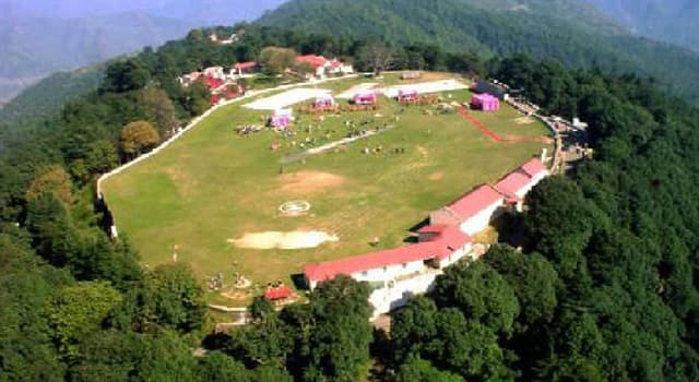 Geography Trivia Question: Where, in India, will you find the highest cricket ground in the world?
