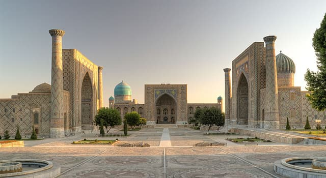 Geography Trivia Question: Where is Samarkand?