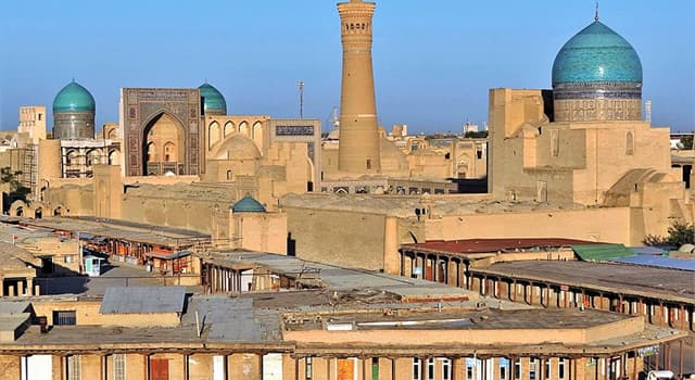 Geography Trivia Question: Where is the city of Bukhara?
