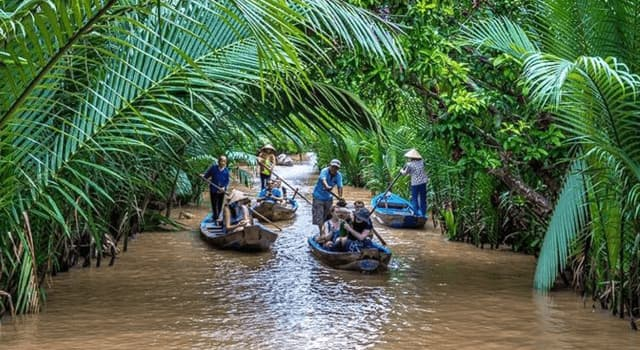 Geography Trivia Question: Where is the region Mekong Delta located?