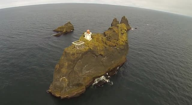 Geography Trivia Question: Where will you find this lighthouse?