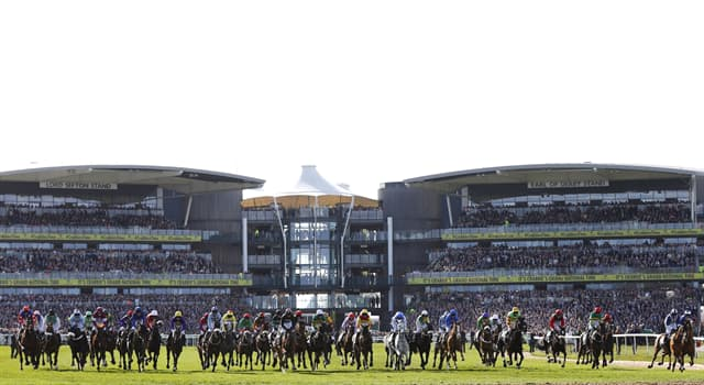 Sport Trivia Question: Which airport was the site where The Grand National horse race was run during WWI?
