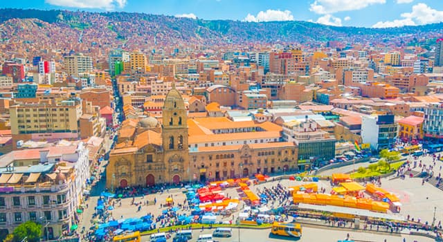 Geography Trivia Question: Which capital city in South America has the highest elevation?