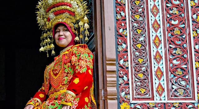 Geography Trivia Question: Which country are Minangkabau people native to?