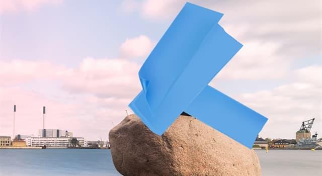 Geographie Wissensfrage: Welche berühmte dänische Statue versteckt sich in diesem Bild?