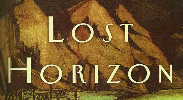 Culture Trivia Question: Which fictional place was described in the novel 'Lost Horizon' by James Hilton?