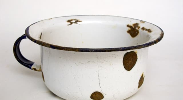 Society Trivia Question: Which of the following was a common name for a chamber pot?