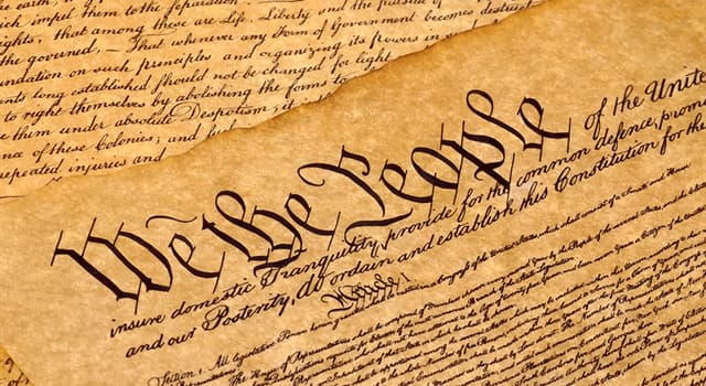 Culture Trivia Question: Which of these was not a goal of the 'Preamble to the US Constitution'?