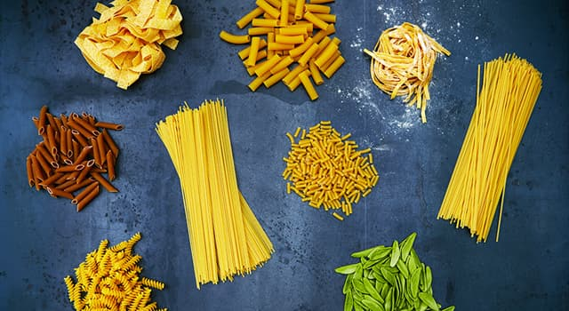 Culture Trivia Question: Which of these is a variety of pasta?
