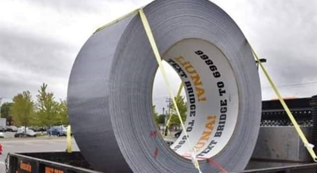 History Trivia Question: Which person came up with the idea that resulted in the development of duct tape?