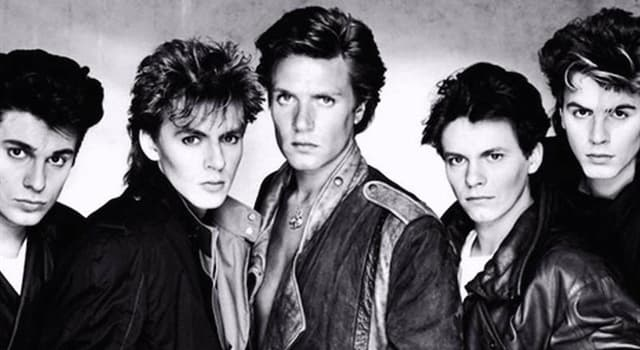 Culture Trivia Question: Which song was English new wave band Duran Duran's best selling single?