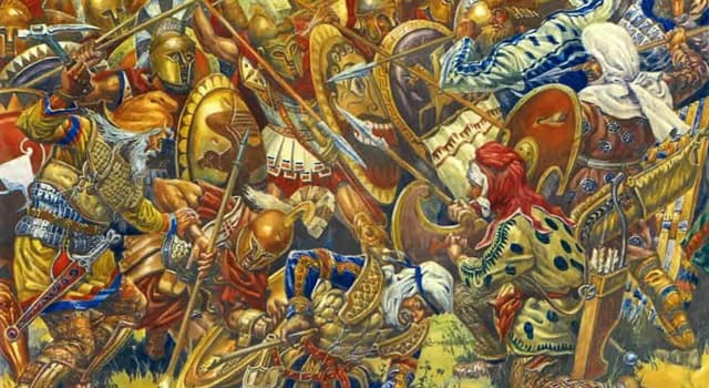 History Trivia Question: Which two ancient civilizations fought in the Battle of Plataea?