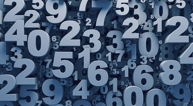 Science Trivia Question: Which type of number indicates order of sequence?