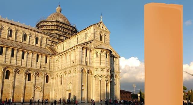 Geographie Wissensfrage: Welches bekannte Wahrzeichen Italiens ist auf dem Bild versteckt?