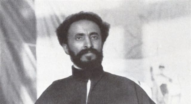 History Trivia Question: Who was Haile Selassie?