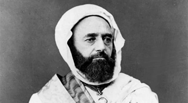 History Trivia Question: Who was the Algerian leader who led the struggle against the French invasion in the 19th century?