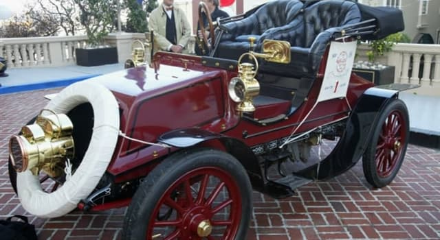 History Trivia Question: Who was the first American to drive across the United States?