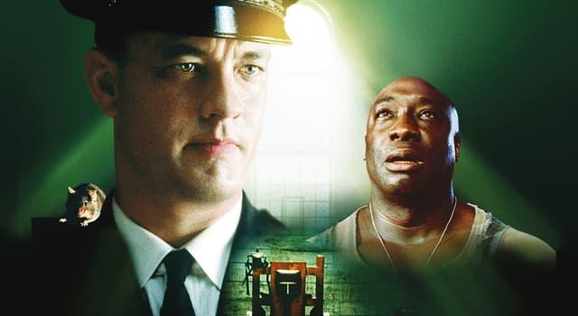 """Film & Fernsehen Wissensfrage: Wie lautet der Name der zahmen Maus, die der Gefangene in Stephen Kings Roman """"The Green Mile"""" hält?"""