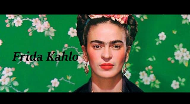 """Kultur Wissensfrage: Wie lautet der volle Titel eines Gemäldes von Frida Kahlo """"Was ____ mir gab""""?"""