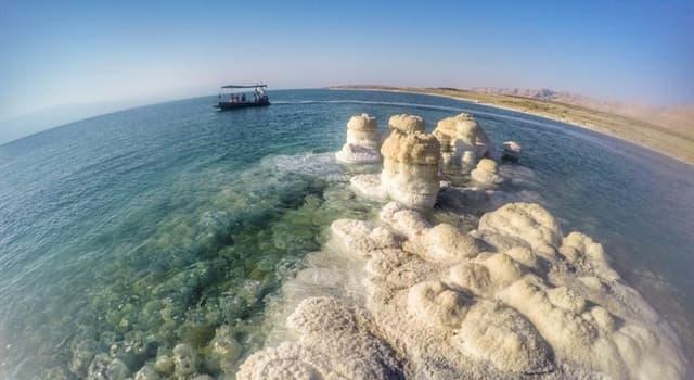 Geographie Wissensfrage: Wie tief liegt das Tote Meer unter dem Meeresspiegel?