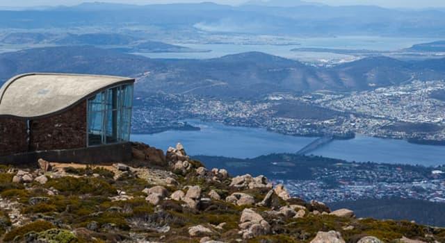 Geographie Wissensfrage: Wo befindet sich der Mount Wellington?