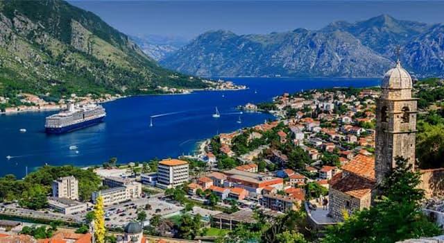 Geographie Wissensfrage: Wo liegt Montenegro?