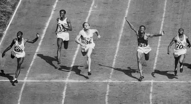 Sport Trivia Question: As of 2019, who is the youngest male winner of the Olympic 100 metres sprint?