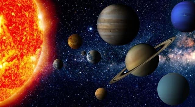 nauka Pytanie-Ciekawostka: Atmosfera której z tych planet składa się z wodoru, helu i metanu?