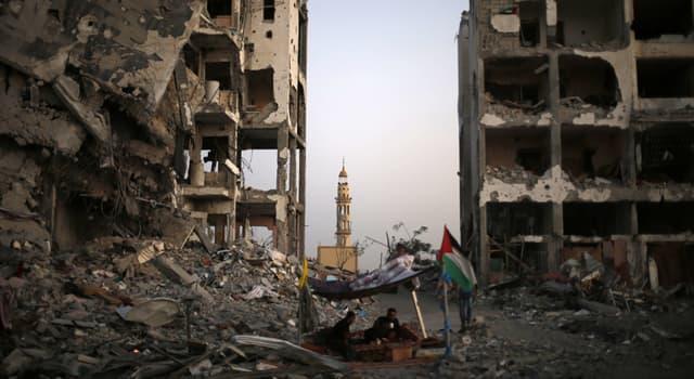 Географія Запитання-цікавинка: Що з перерахованого - одна з двох частин частково визнаної арабської держави Палестина?